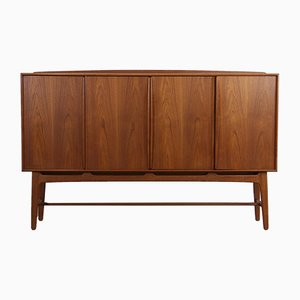 Danish Teak Highboard by Svend Åge Madsen for Knudsen & Søn, 1950s