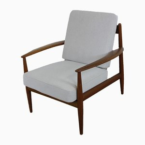 Danish Teak Lounge Chair by Grete Jalk for France & Daverkosen, 1950s