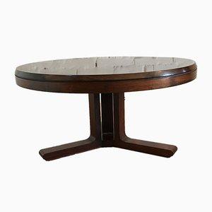 Vintage Italian Compressed Wood Coffee Table, 1970s