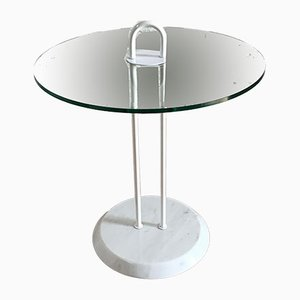 Italian Molded Glass Coffee Table from Cattelan, 1980s