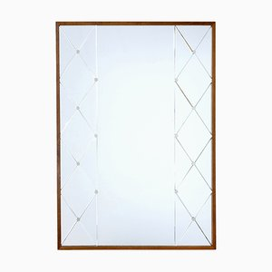 Specchio Art Déco di Glas & Trä, anni '50
