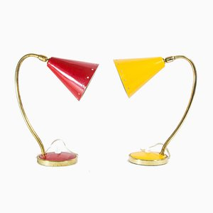 Mid-Century Lamps from Stilnovo, 1950s, Set of 2
