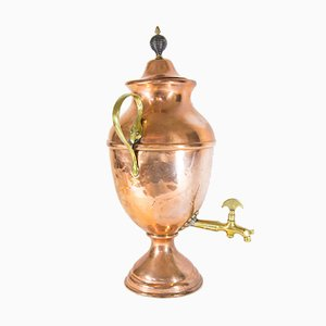 Antique Copper Samovar