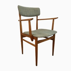 Mid-Century Italian Compressed Wood Dining Chair, 1960s