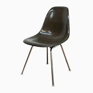 Vintage DSS-H Brown Fiberglass Chair by Charles & Ray Eames for Vitra