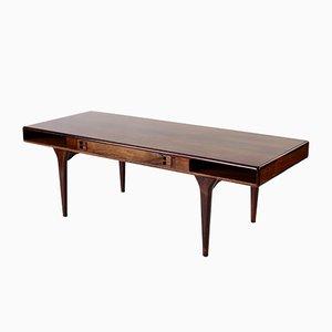 Table Basse en Palissandre par Nanna Ditzel pour Silkeborg Møbelfabrik, Danemark, 1960s