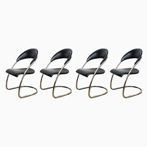 Vintage S36 Chairs by Hans Luckhardt for Thonet, Set of 4