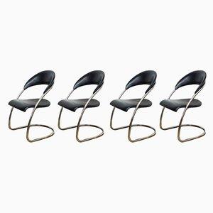 Vintage S36 Stühle von Hans Luckhardt für Thonet, 4er Set