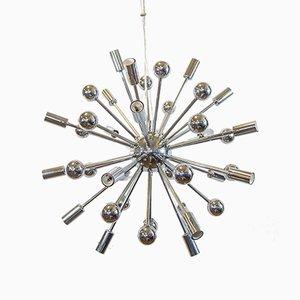 Lámpara de techo Sputnik vintage, años 80