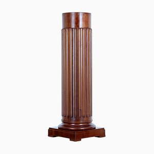 19th-Century Mahogany Column