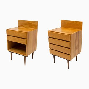 Mid-Century Nightstands from UP Závody, 1960s, Set of 2