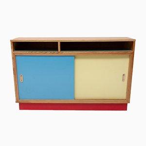 Mid-Century Czech Wood, Formica, & Veneer Dresser, 1950s