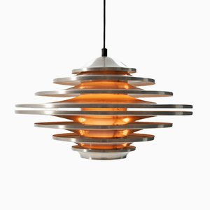 Vintage Pendant Lamp by Hans-Agne Jakobsson for Svera, 1962