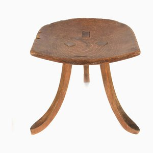 Antique Oak Thebes Stool from Liberty & Co.
