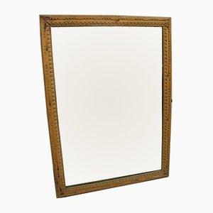 Specchio neoclassico in legno intagliato, XVIII secolo