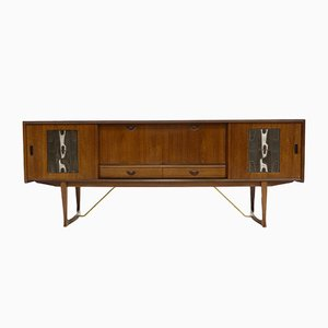 Veneer Sideboard by Louis van Teeffelen for WéBé, 1950s