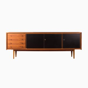 Mid-Century German Formica and Walnut Sideboard, 1960s