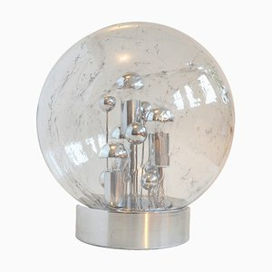 Bubble Glass Table Lamp by Tom Robertson for Doria Leuchten, 1970s
