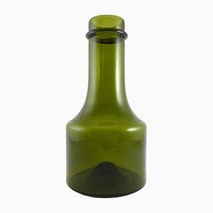 Vase Pullo Mid-Century en Verre Vert par Tapio Wirkkala pour Iittala