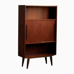 Mueble danés vintage de teca, años 70