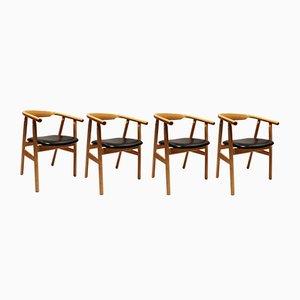 Chaises de Salle à Manger Modèle GE525 par Hans J. Wegner pour Getama, Danemark, 1960s, Set de 4