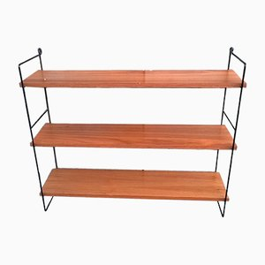 Mid-Century Teak and Veneer Shelf, 1960s