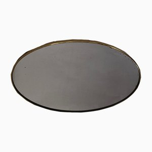 Oval Brass Mirror, 1950s