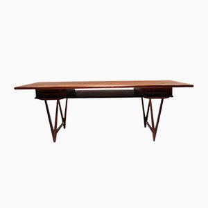 Danish Rosewood Coffee Table by E.W. Bach, 1960s