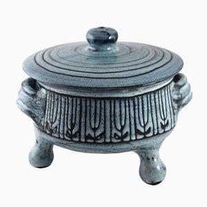 Mid-Century Keramikbehälter mit Deckel von Jacques Pouchain