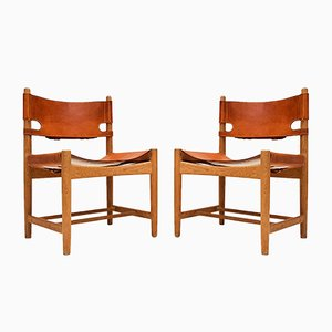 Danish 3237 Dining Chairs by Børge Mogensen for Fredericia, 1960s, Set of 2