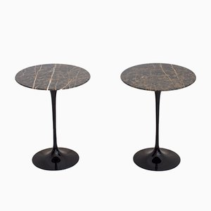 Tables d'Appoint Tulipe Mid-Century par Eero Saarinen pour Knoll International, 1950s, Set de 2
