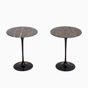 Tables d'Appoint Tulipe Mid-Century par Eero Saarinen pour Knoll International, 1950s, Set de 2