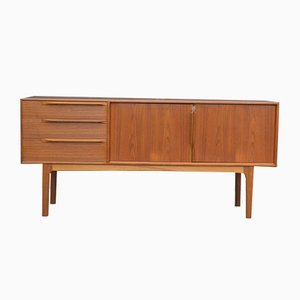 Scandinavian Modern Teak Sideboard by Tom Robertson for McIntosh, 1960s
