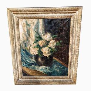 Peinture de Nature Morte par S. Etienne, 1920s