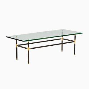 Table Basse Modèle 1736 en Laiton par Pietro Chiesa pour Fontana Arte, 1950s