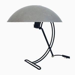 Lampada da tavolo NB100 in acciaio di Louis C. Kalff per Philips, anni '50