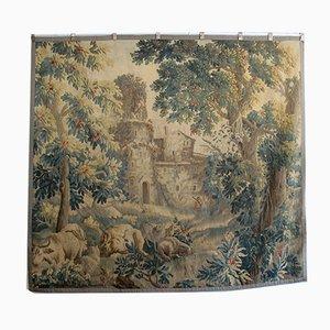 Antiker französischer Wandteppich