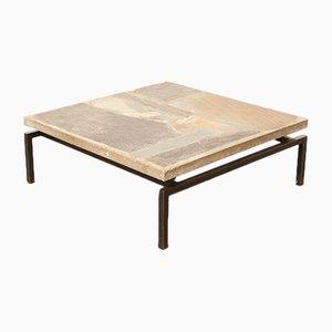 Tavolino da caffè brutalista vintage di Paul Kingma di Paul Kingma, anni '60