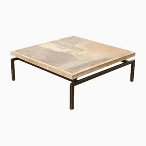 Vintage Brutalist Coffee Table by Paul Kingma From Paul Kingma, 1960s