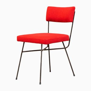 Italian Iron Elettra Dining Chair by BBPR for Arflex, 1953
