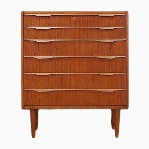 Mid-Century Danish Teak Veneer Dresser, 1960s