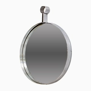 Vintage Steel Mirror, 1970s