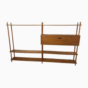 Mid-Century Wood Shelving by Willem Lutjens, 1950s