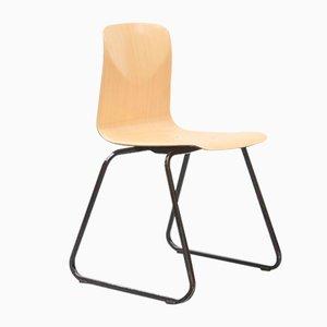 S23 Beistellstuhl aus Stahl von Galvanitas, 1960er