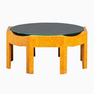 Tavolino da caffè Mitzi postmoderno di Hans Hollein per Poltronova, 1981