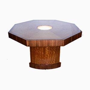 Achteckiger Tisch, 1930er