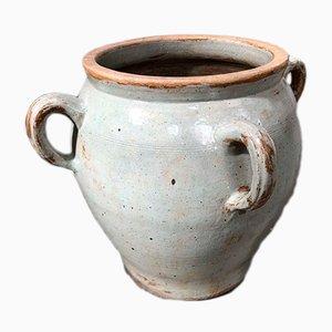 Großes antikes Salzfässchen aus Keramik