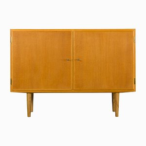 Small Danish Oak Sideboard by Carlo Jensen for Hundevad & Co., 1960s