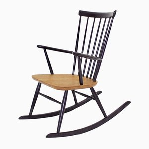 Violet Rocking Chair by Roland Rainer for Thonet, 1950s