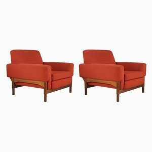 Kiushu Armchairs by Sergio Saporiti for Fratelli Saporiti, 1960s, Set of 2